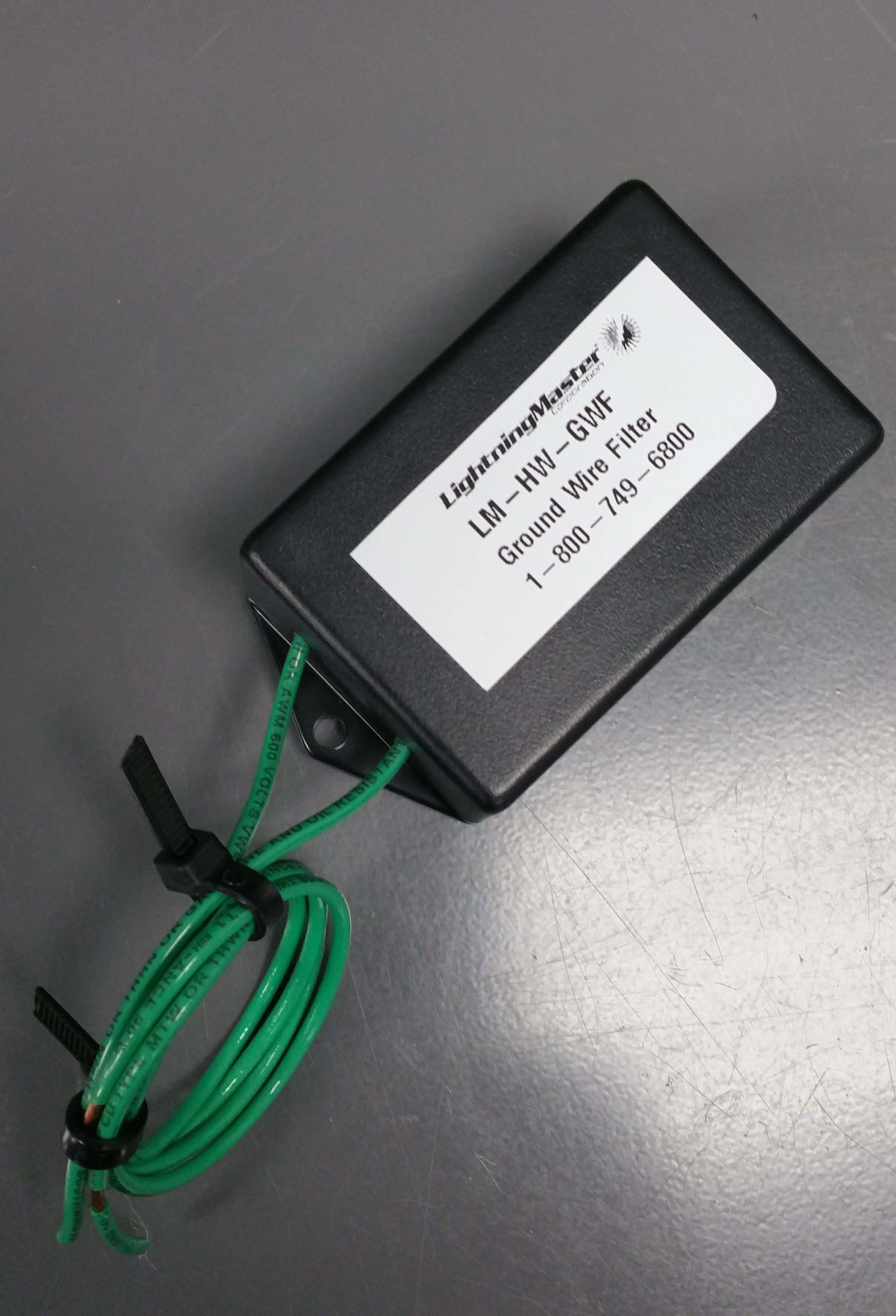 Ground Wire Filter (LM-HW-P-GWF) | Lightning Master Corporation