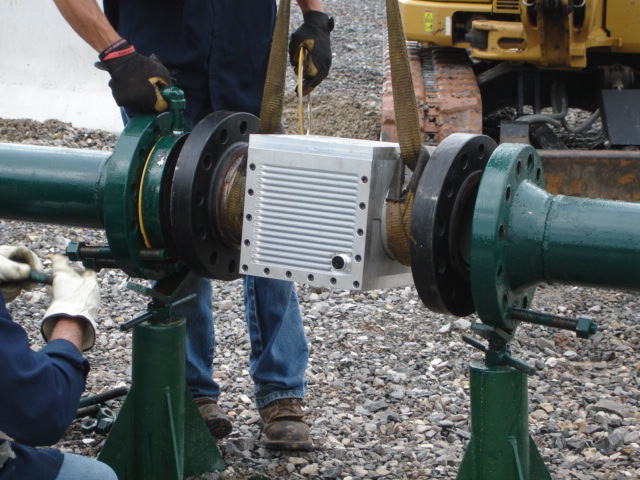 IPTG being installed at a well-site