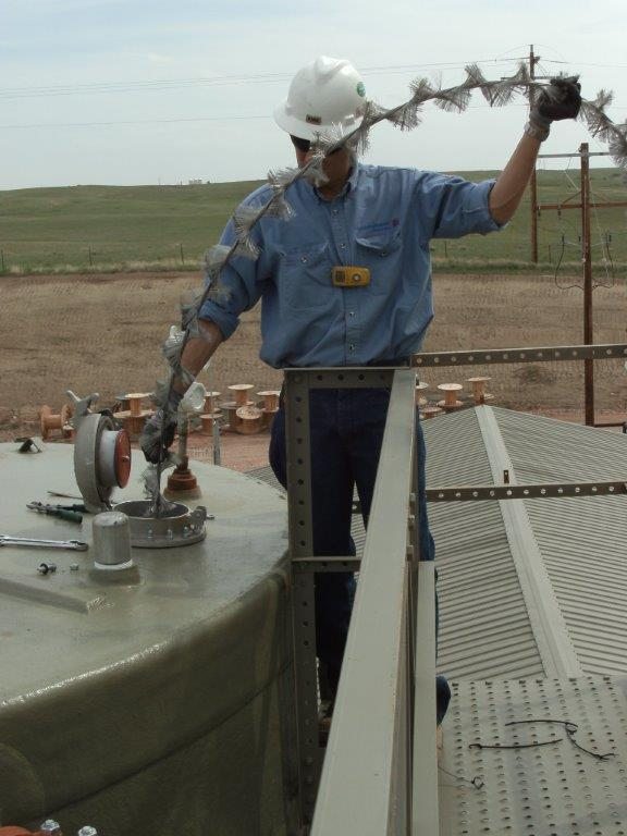Petroleum Production And Disposal Facility Static And